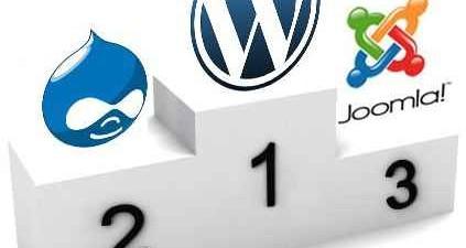 Wordpress Vs Joomla and Drupal