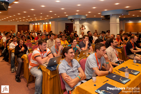 Magento Developers at an International Conference